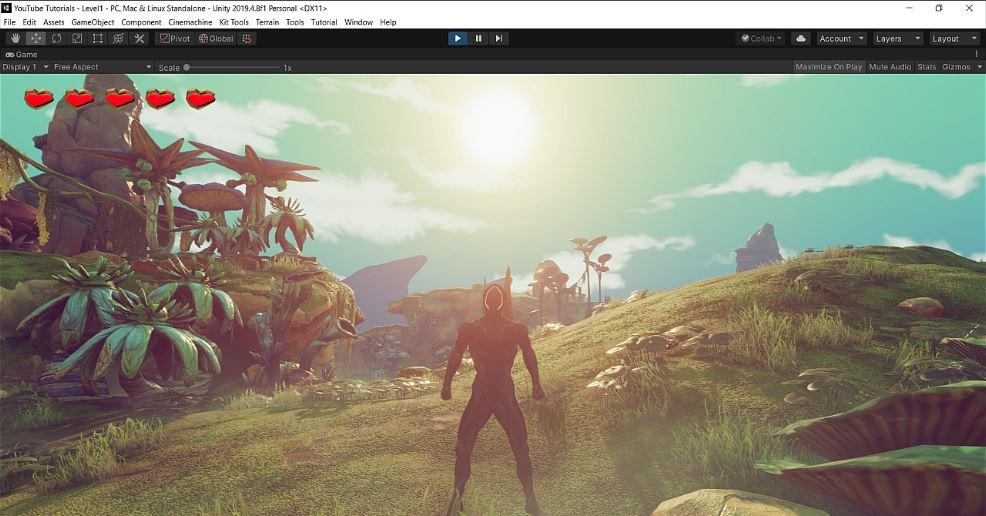 3d game kit character retargeting