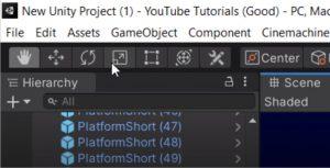 Unity Interface tutorial move tool