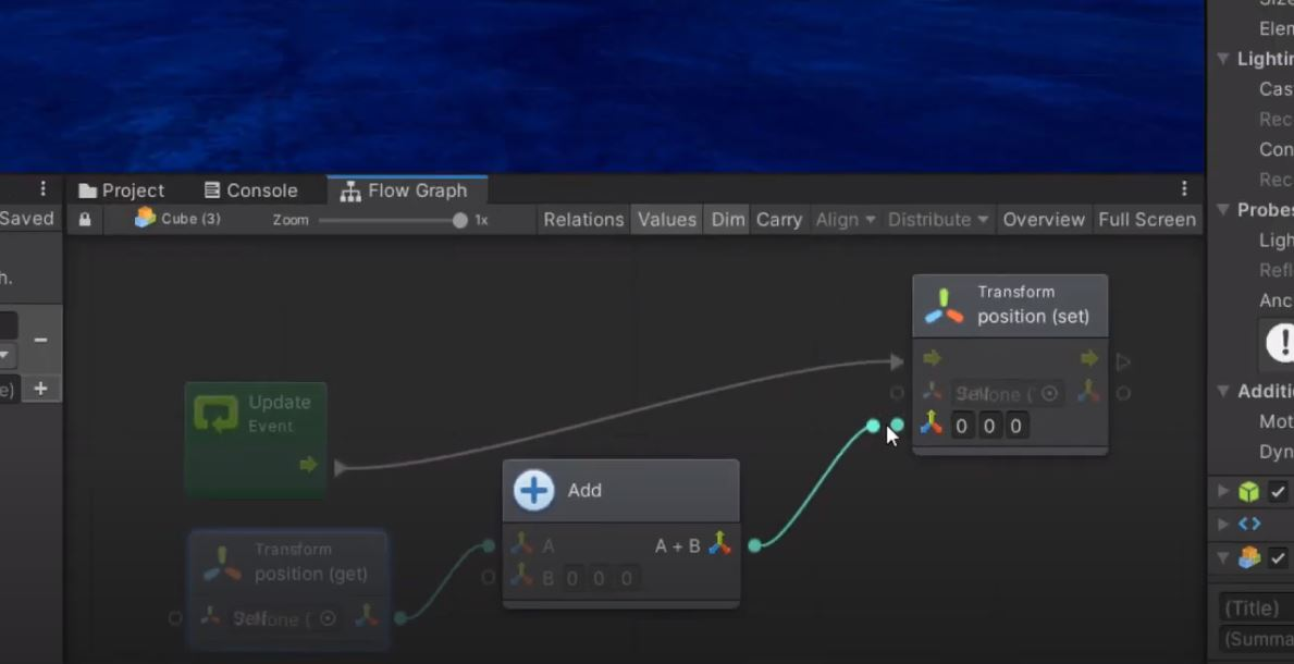 move an object with unity bolt
